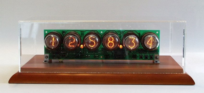 in 1 lc 516 nixie tube clock engthe clock with in 1 tubes in the case