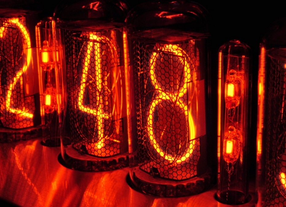 Nocrotec Shop - IN-18/IN-4 Nixie Tube Socket with blue LEDs