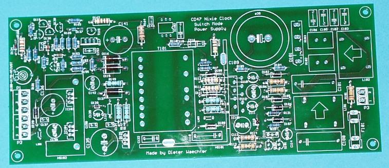 CD47 (Rodan) Nixie Tube Clock